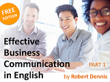 Find a job and improve your career with effective Business English